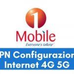 Configurazione APN 1Mobile