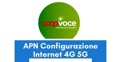 Configurazione APN CoopVoce Italia