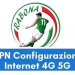 Configurazione APN Rabona Mobile Italia