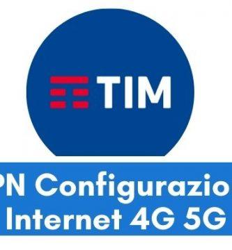 Configurazione APN TIM Italia