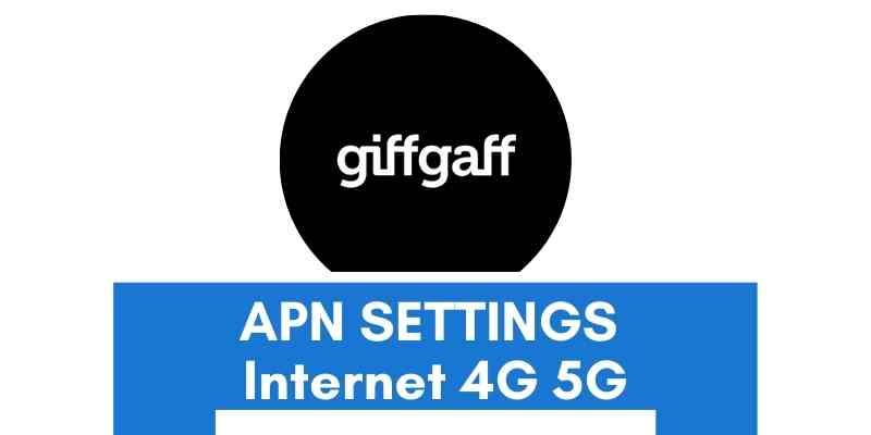 giffgaff-apn-settings
