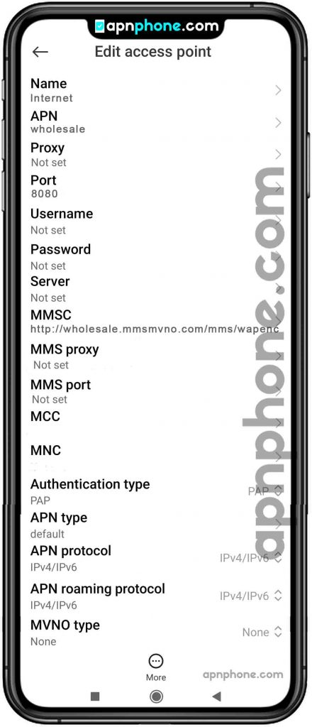 mint mobile apn settings for android