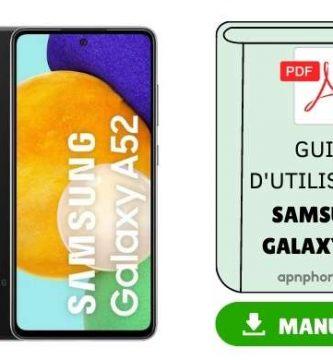 samsung-galaxy-a52-manuel-d-utilisation-pdf